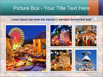 Сhristmas market PowerPoint Templates - Slide 19
