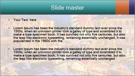 Сhristmas market PowerPoint Template