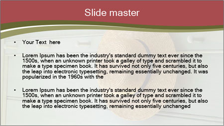 Style house PowerPoint Template - Slide 2