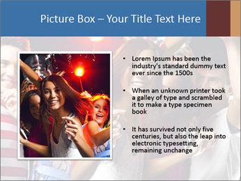 Energetic girl PowerPoint Template - Slide 13