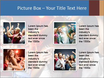 Energetic girl PowerPoint Template - Slide 14
