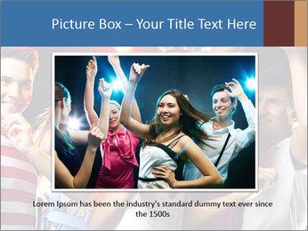 Energetic girl PowerPoint Template - Slide 15