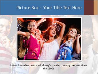 Energetic girl PowerPoint Template - Slide 16