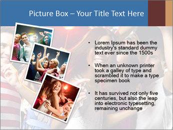 Energetic girl PowerPoint Template - Slide 17