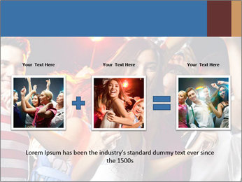 Energetic girl PowerPoint Template - Slide 22