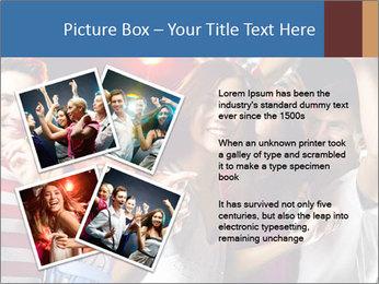 Energetic girl PowerPoint Template - Slide 23