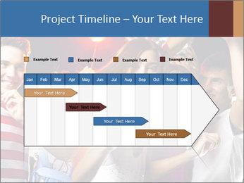 Energetic girl PowerPoint Template - Slide 25