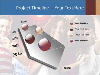 Energetic girl PowerPoint Template - Slide 26