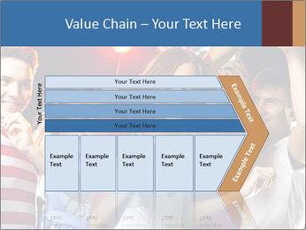 Energetic girl PowerPoint Template - Slide 27