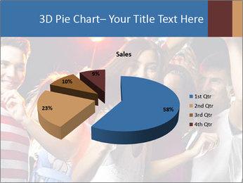 Energetic girl PowerPoint Template - Slide 35