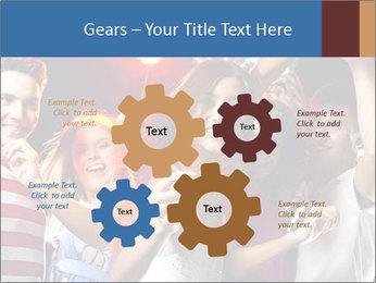 Energetic girl PowerPoint Template - Slide 47