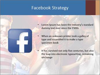 Energetic girl PowerPoint Template - Slide 6