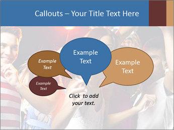 Energetic girl PowerPoint Template - Slide 73