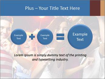 Energetic girl PowerPoint Template - Slide 75
