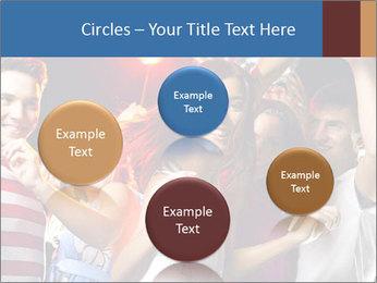 Energetic girl PowerPoint Template - Slide 77