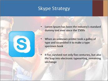 Energetic girl PowerPoint Template - Slide 8
