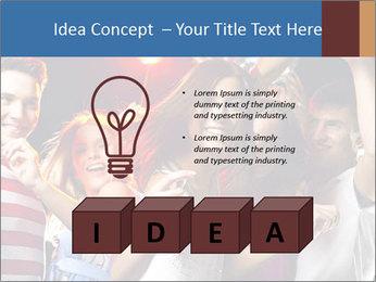 Energetic girl PowerPoint Template - Slide 80