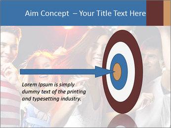 Energetic girl PowerPoint Template - Slide 83