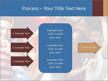 Energetic girl PowerPoint Template - Slide 85