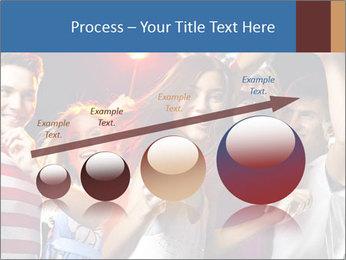 Energetic girl PowerPoint Template - Slide 87