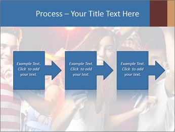 Energetic girl PowerPoint Template - Slide 88