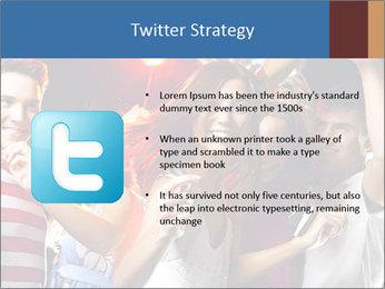Energetic girl PowerPoint Template - Slide 9