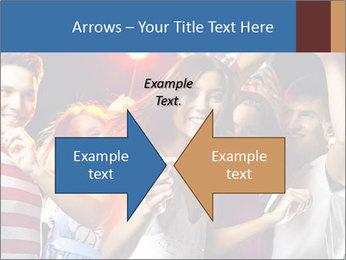 Energetic girl PowerPoint Template - Slide 90