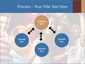 Energetic girl PowerPoint Template - Slide 91