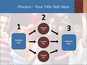 Energetic girl PowerPoint Template - Slide 92