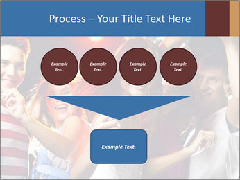 Energetic girl PowerPoint Template - Slide 93