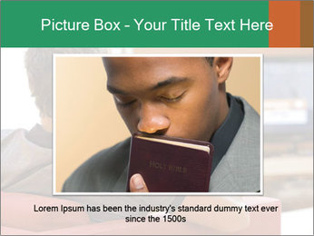 Man watching television PowerPoint Template - Slide 16
