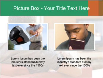 Man watching television PowerPoint Template - Slide 18