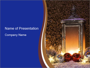 Christmas time PowerPoint Templates - Slide 1