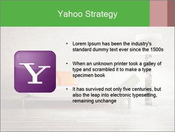 Modern interior room PowerPoint Template - Slide 11