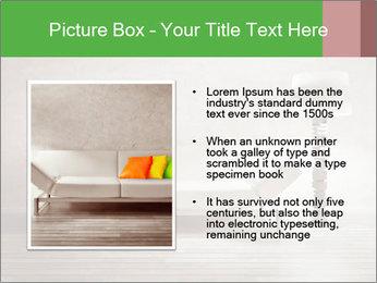 Modern interior room PowerPoint Template - Slide 13