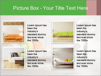 Modern interior room PowerPoint Template - Slide 14