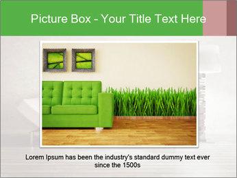 Modern interior room PowerPoint Template - Slide 15