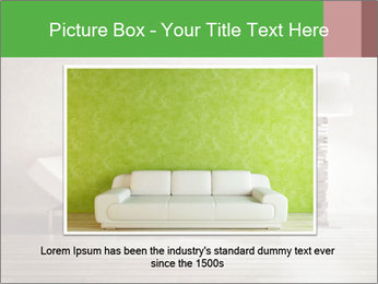 Modern interior room PowerPoint Template - Slide 16