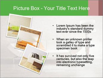 Modern interior room PowerPoint Template - Slide 17