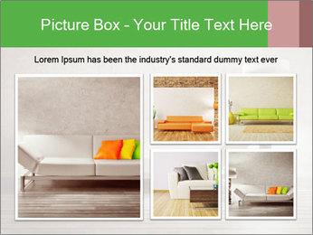 Modern interior room PowerPoint Template - Slide 19