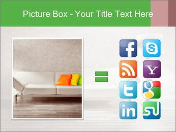 Modern interior room PowerPoint Template - Slide 21