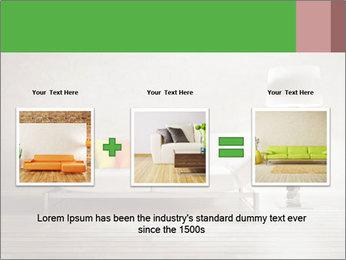 Modern interior room PowerPoint Template - Slide 22
