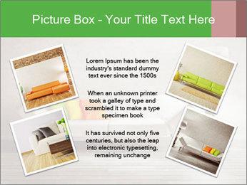 Modern interior room PowerPoint Template - Slide 24