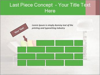 Modern interior room PowerPoint Template - Slide 46