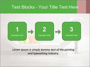 Modern interior room PowerPoint Template - Slide 71