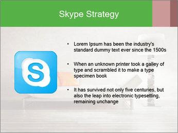 Modern interior room PowerPoint Template - Slide 8