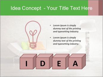 Modern interior room PowerPoint Template - Slide 80