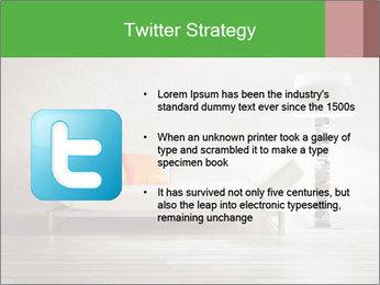 Modern interior room PowerPoint Template - Slide 9