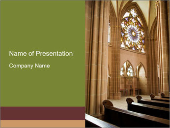 Catholic church PowerPoint Templates - Slide 1