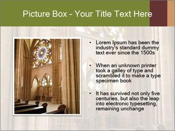 Catholic church PowerPoint Template - Slide 13
